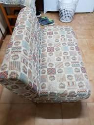 Sofá cama dobrável