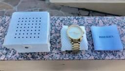 Relógio Diesel original dourado