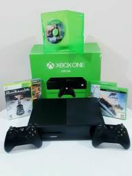 Xbox One FAT 2 Controles + 5 Jogos DESAPEGO