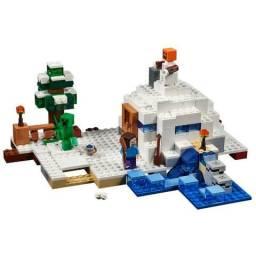 Legos coleção minecraft, bonecos , cenarios , para montar e colecionar