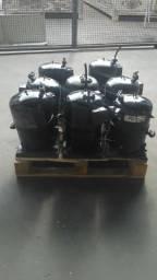 Compressor Ar-condicionado e Refrigeração Carrier, Hitachi, Coplamatic, Bitzer trifásico