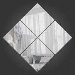Painel de espelho 30x30 cada quadrado