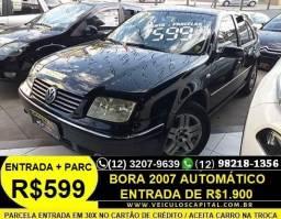 Bora 2007 Automático Parcelas de 599 reais - 2007