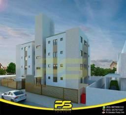 Título do anúncio: Apartamento novo, Varanda, 55,85m² por apenas R$ 162.300,00 em Cristo Redentor , João Pess
