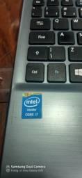 Notebook acer i7