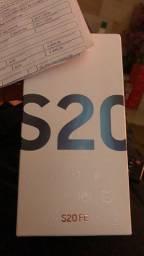 Samsung galaxy s20 FE novo lacrado nota fiscal