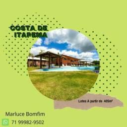 Surreal Costa de Itapema, lotes a partir de 450m², entrada de 10% em Saubara