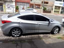 Vendo Carro Automático Elantra Hyundai Teto Solar Ano 2012, modelo 2013 - 2013