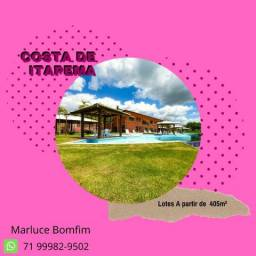Oportunidade exclusiva em Itapema - Lotes de 405m² - Praia Privativa - Cond Fechado