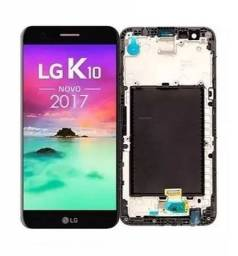 Tela para LG K10 2017 / K10 Novo M250 - Instalação Expressa, Na Hora!