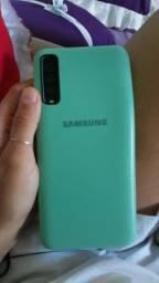 Sansung A30s com a caixa troco por iPhone