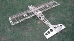 Aeromodelo Trainer 1400mm P/ Motor Glow 46