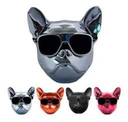 Caixa De Som Cahorro Bulldog 10w Bluetooth Sd Tsotf