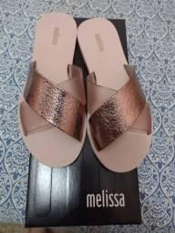 Melissa Good Times Rosa/Metalizado