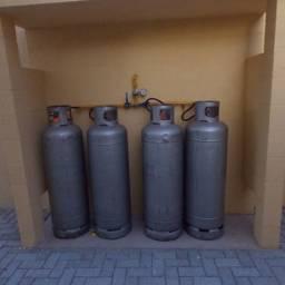 Rede de gás - Residencial e Comercial (restaurantes, pizzarias, panificadoras, etc)