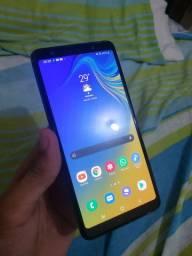 Samsung A7 2018. 64GB. 4 RAM SEMI-NOVO. ORIGINAL