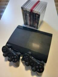 Ps3 - Playstation 3 - conservado + jogos