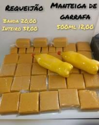 Vendo Requeijão e Manteiga de Garrafa