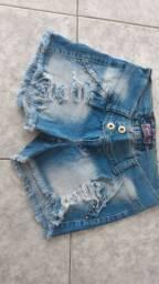 Shorts tamanho 42 apenas 5 reais cada