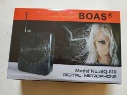 Microfone Megafone Digital - Amplificador de voz Boas