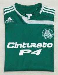 Camisa Palmeiras 1 Adidas G Nº 28 - Pirelli (2007)