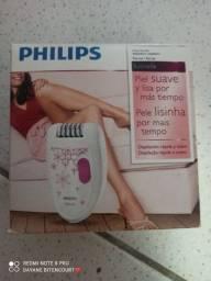 Depilador elétrico Philips.