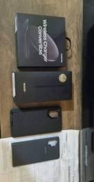 Samsung Note 10+ Plus 256 GB 12 RAM impecável completo com nota fiscal+ brindes.