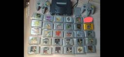 Nintendo 64 2 controles 30 jogos oeiginaia