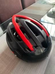 Capacete Ciclismo com Óculos