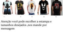Camisas perspnalizadas de acordo com o gosto do cliente!
