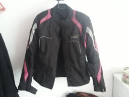 Jaqueta moto X11 feminina usada