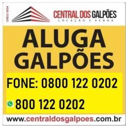 Galpão bairro industrial