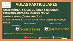 Aula Particular de Física, Química, Matemática de Biologia