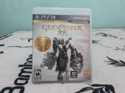 Jogo Mídia Física PS3 God of War Saga