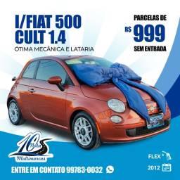Fiat 500 Cult *Parcelas R$999,00 * Sem Entrada