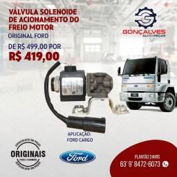 VÁLVULA SOLENÓIDE DE ACIONAMENTO DO FREIO MOTOR ORIGINAL FORD