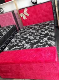 Cama Box Casal com Colchão - Direto da Fábrica