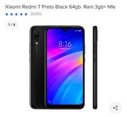 Celular redmi not 7 64 gb