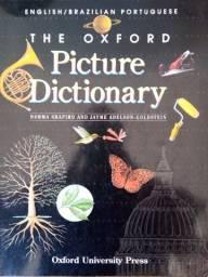 Vendo livro The Oxford Picture Dictionary todo ilustrado e colorido