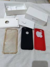 Caixa com acessórios do Iphone 6