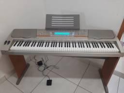 Teclado/ piano Cássio  profissional 88 teclas