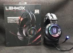 Fone De Ouvido Headset Gamer lehmox nova