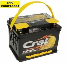 Bateria Cral de 60 Amp. 12 Meses De Garantia - Instalada - Me liga
