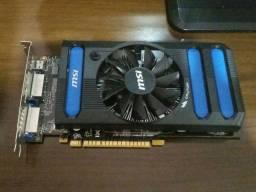 Placa de Video Geforce Gtx 650 com defeito