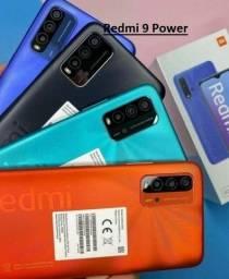 Redmi 9 Power 64/128gb Verde/Azul/Vermelho