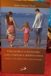Livro Educando e convivendo com crianças e adolescentes