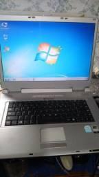 notebook funcionando ok itautec R$ 300.00