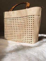 Bolsas de palha personalizadas