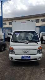 Hyundai hr 2012 + baú + km 196.000