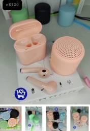 Kit fone Bluetooth + som